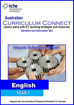 Year 1 Literacy with ICT Lesson Plan Bundle