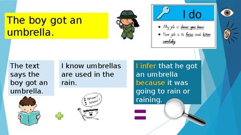 Year 1 Making Inferences Lesson 2
