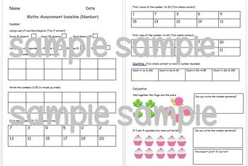 Year 1 Maths Baseline Assessment