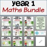 Year 1 Maths - GROWING BUNDLE (Australian Curriculum)