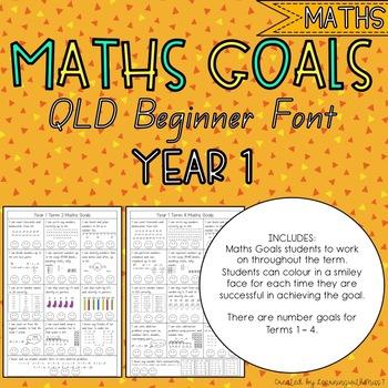 Year 1 Maths Goals Checklist