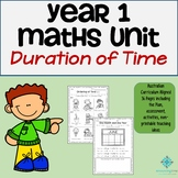 Year 1 Maths Program - Duration of Time (Hours, Days, Week