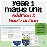 Year 1 Australian Curriculum Maths - Addition and Subtraction Program
