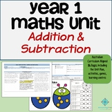 Year 1 Australian Curriculum Maths - Addition and Subtract