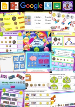 Year 1 Money Smart Notebook and Unit of Work Bundle 1