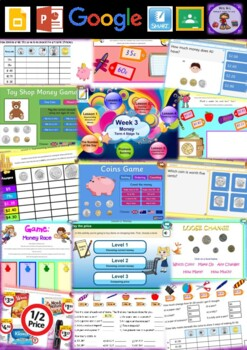 Year 1 Money Smart Notebook and Unit of Work Bundle 2