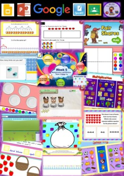 Year 1 Multiplication and Division Smart Notebook and Unit of Work Bundle 1