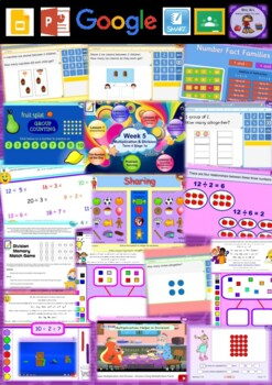 Year 1 Multiplication and Division Smart Notebook and Unit of Work Bundle 3