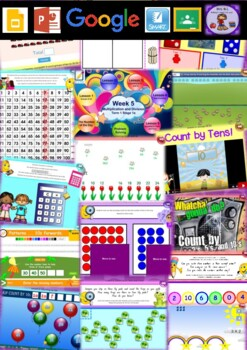 Year 1 Multiplication and Division Smart Notebook and Unit of Work Bundle 4