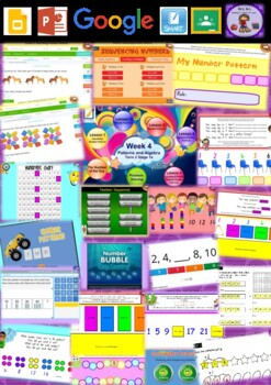 Year 1 Patterns and Algebra Smart Notebook and Unit of Work Bundle 2