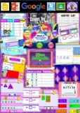 Year 1 Patterns and Algebra Smart Notebook and Unit of Work Bundle 3