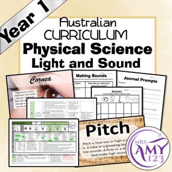 Year 1 -Physical Science- Light and Sound- Australian Curriculum