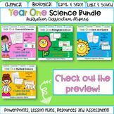 Year 1 Science Bundle - Australian Curriculum Aligned