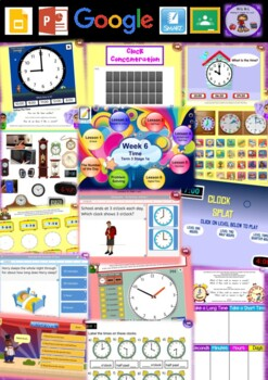Year 1 Time Smart Notebook and Unit of Work Bundle 2