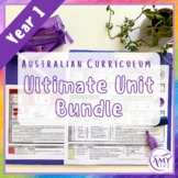 Year 1 Ultimate Bundle- Australian Curriculum Units & Math