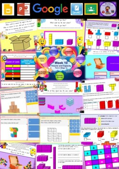 Year 1 Volume and Capacity Smart Notebook and Unit of Work Bundle 2