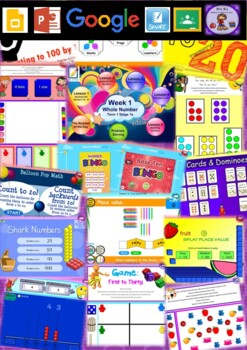 Year 1 Whole Number Smart Notebook and Unit of Work Bundle 1