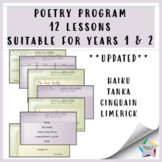 Poetry Writing Program with Notebook file