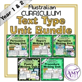 Year 1 and 2 Text Type Unit Bundle