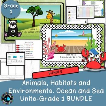 Year 1 Sea and Animal Themed Bundle
