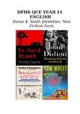 Year 11 Australian literature QCE focus book