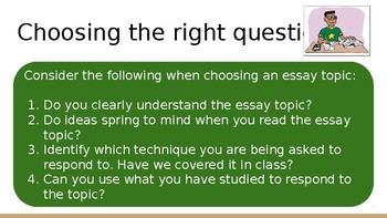 Year 11 Exam Revision
