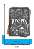 Year 11 Food Recipes
