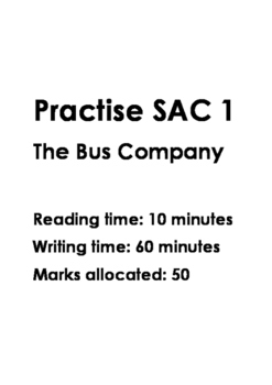 Year 12 Further Maths Practise SAC 1