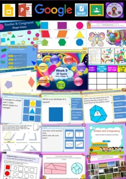 Year 2 2D Space Smart Notebook and Unit of Work Bundle 1