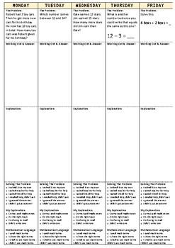 Applying Math Booklet - Problem Solving - Semester 2