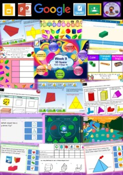 Year 2 3D Space Smart Notebook and Unit of Work Bundle 2