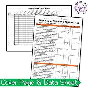 Year 2 Number & Algebra Maths Test Pack- Australian Curriculum