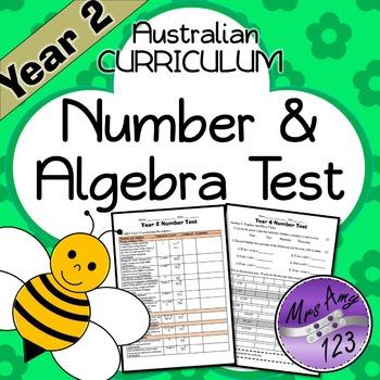 Year 2 ACARA Number Maths Test