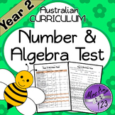 Year 2 ACARA Number Maths Test
