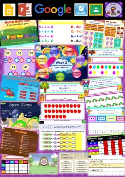 Year 2 Addition and Subtraction Smart Notebook and Unit of Work Bundle 2