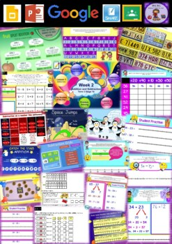 Year 2 Addition and Subtraction Smart Notebook and Unit of Work Bundle 3