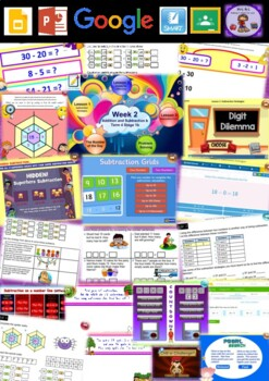 Year 2 Addition and Subtraction Smart Notebook and Unit of Work Bundle 5