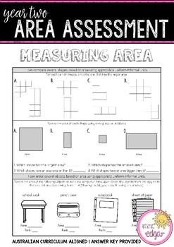 Year 2 Mathematics Assessment | AREA