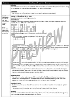 Year 2 Area Smart Notebook and Unit of Work Bundle 1