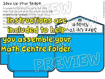 Year 2 Australian Curriculum 2D Shapes Math Centre Activity Folder