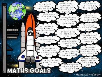 Year 2 Australian Curriculum I can Math Goals