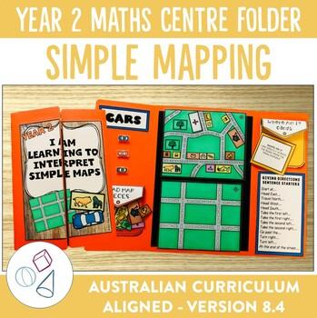 Year 2 Australian Curriculum Mapping Math Centre Activity Folder