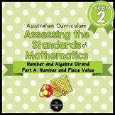 Year 2 Australian Curriculum Maths Assessment Part A Number and Place Value