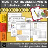Year 2 Australian Curriculum Maths Assessment Statistics and Probability