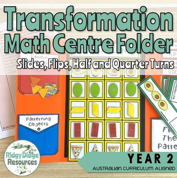 Australian Curriculum Transformations Math Centre Activity Folder Bundle