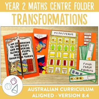 Year 2 Australian Curriculum Transformations Math Centre Activity Folder