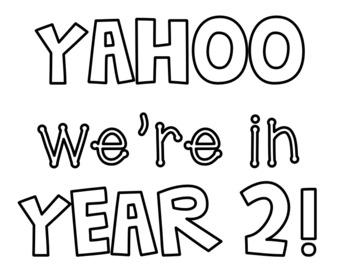 Year 2 Banner
