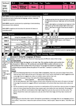 Year 2 Chance Smart Notebook and Unit of Work Bundle 1