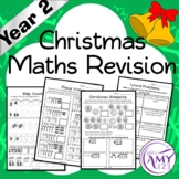 Year 2 Christmas Maths Revision - Australian Curriculum Aligned