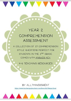 Year 2 Comprehension Assessment